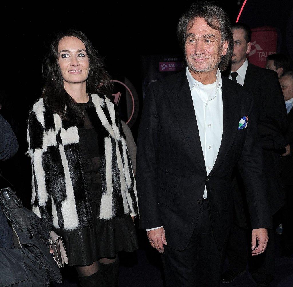 Dominika i Jan Kulczyk na premierze filmu 'Jack Strong'