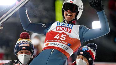 Piotr Żyła mistrzem świata Oberstdorfie, 27 lutego 2021 r.