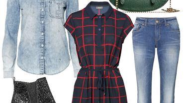 Nową kolekcję C&A moglibyśmy opisać w dwóch słowach: nowoczesna elegancja. Jesienne nowości to proste fasony i stonowane kolory - idealne na nową porę roku. Szczególną uwagę zwróciliśmy na długie kardigany, ciekawe okrycia wierzchnie i modne dodatki: torby, buty i szale.