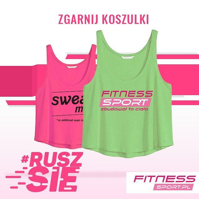 UWAGA Konkurs, Wygraj koszulki fitness.sport.pl