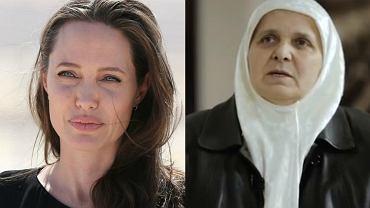 Angelina Jolie, Hatidža Mehmedović