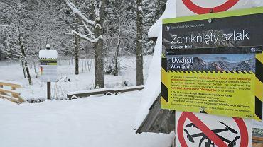 Koronawirus. Tatrzańskie szlaki zostały zamknięte