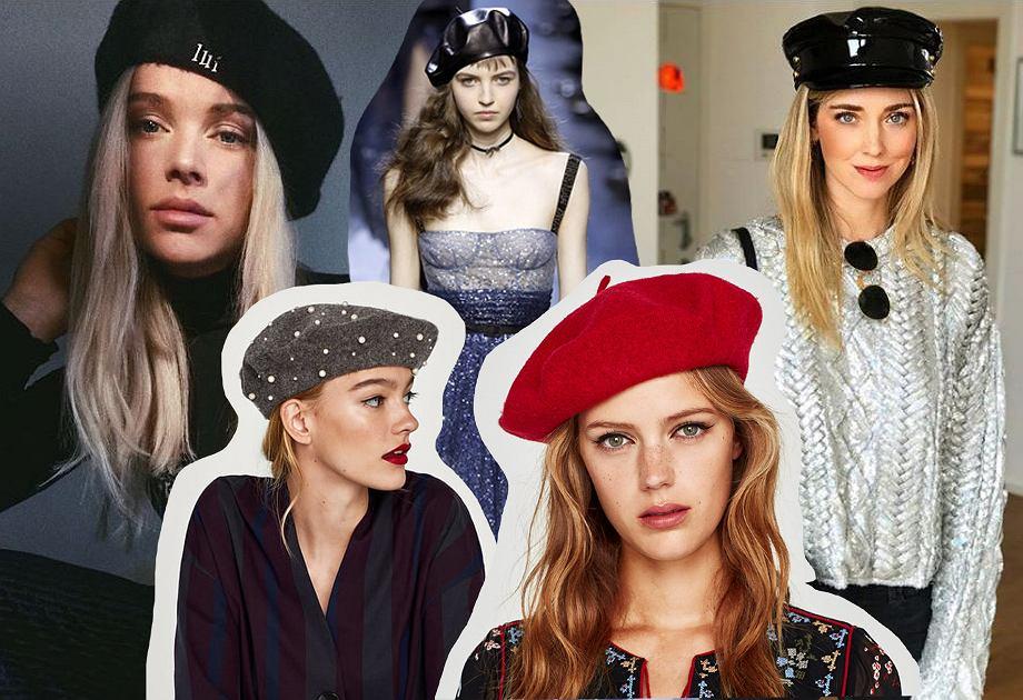 Beret i czapka bretonka - modne dodatki
