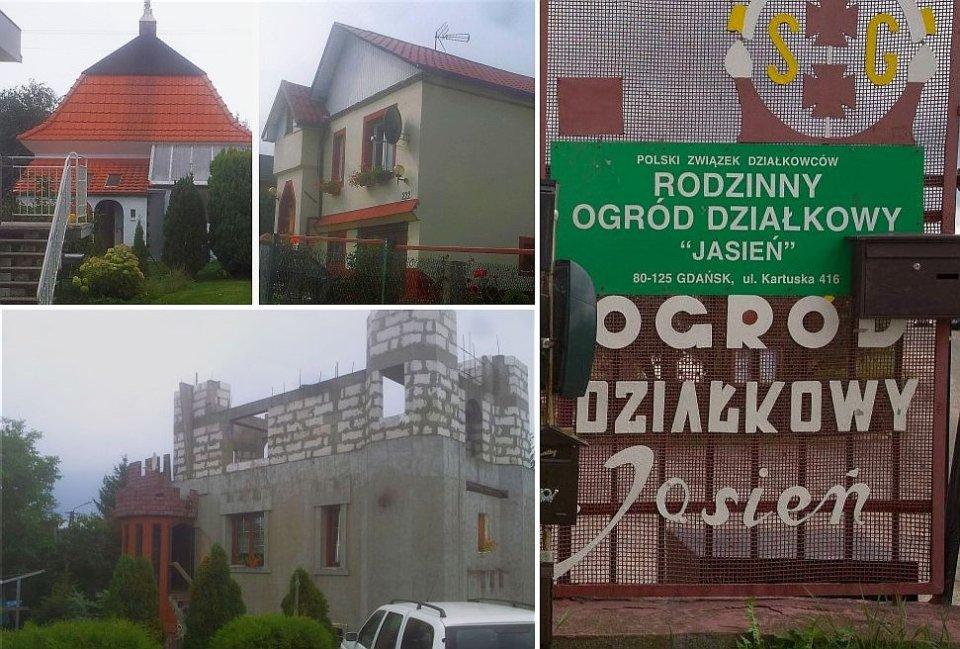 Na Działkach Rosną Wille Gdzie W Atrakcyjnej Części Gdańska