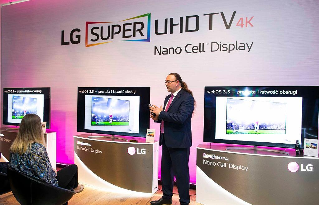 Prezentacja telewizorów Super UHD 4K od LG