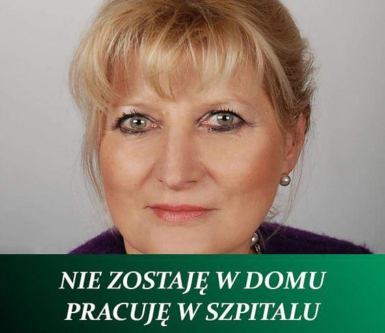 Renata Babicz, kierownik bloku operacyjnego ZOZ Sucha Beskidzka