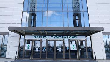 Tymczasowy szpital covidowy w Hali Expo. Kraków, 13 marca 2021