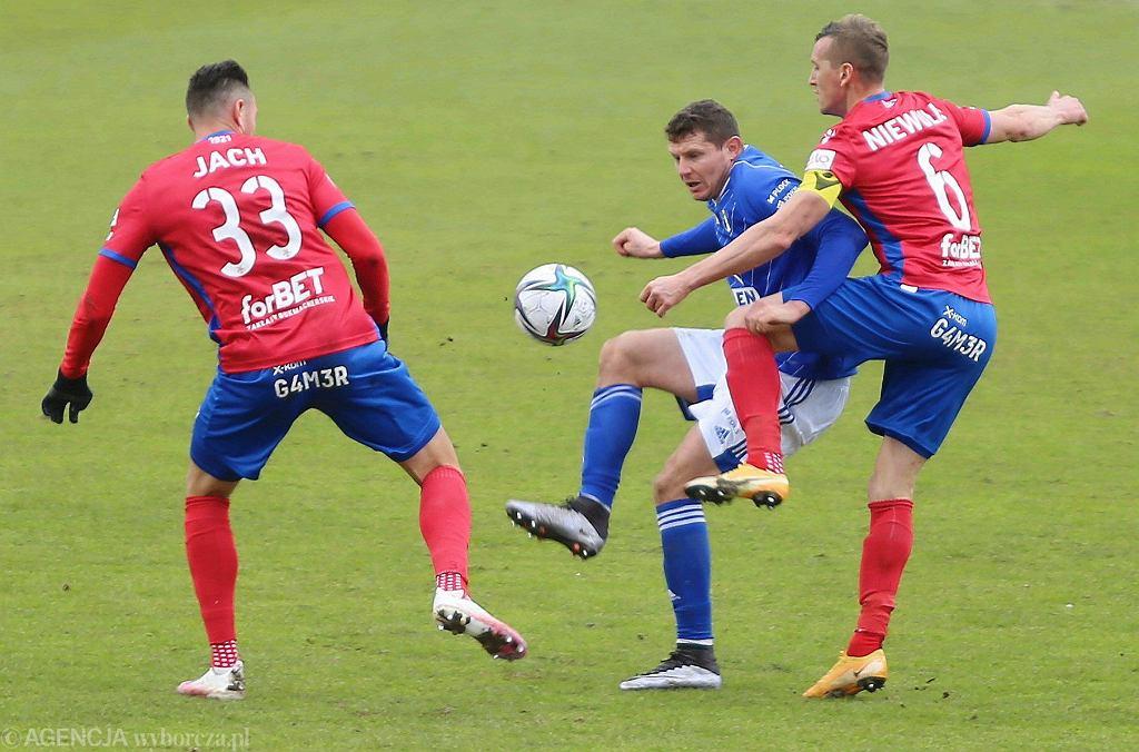 Wisła Płock - Raków Częstochowa 2:2. Mecz 21. kolejki PKO Ekstraklasy 13 marca 2021 r.