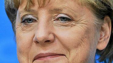 Angela Merkel w czasie wieczoru wyborczego
