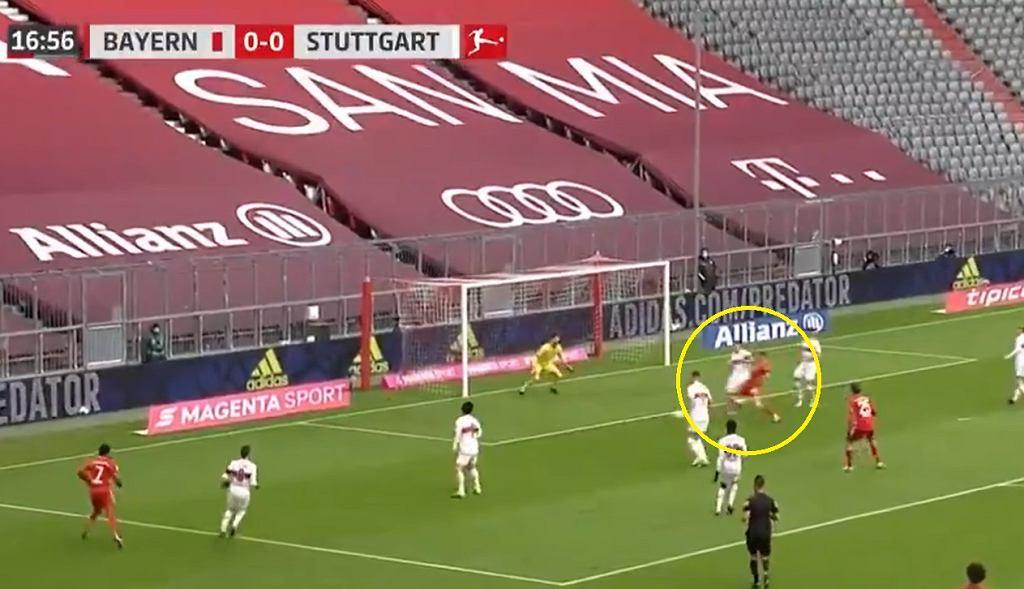 Lewandowski goni Muellera