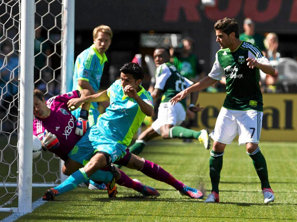 Mecz Seattle Sounders - Portland Timbers
