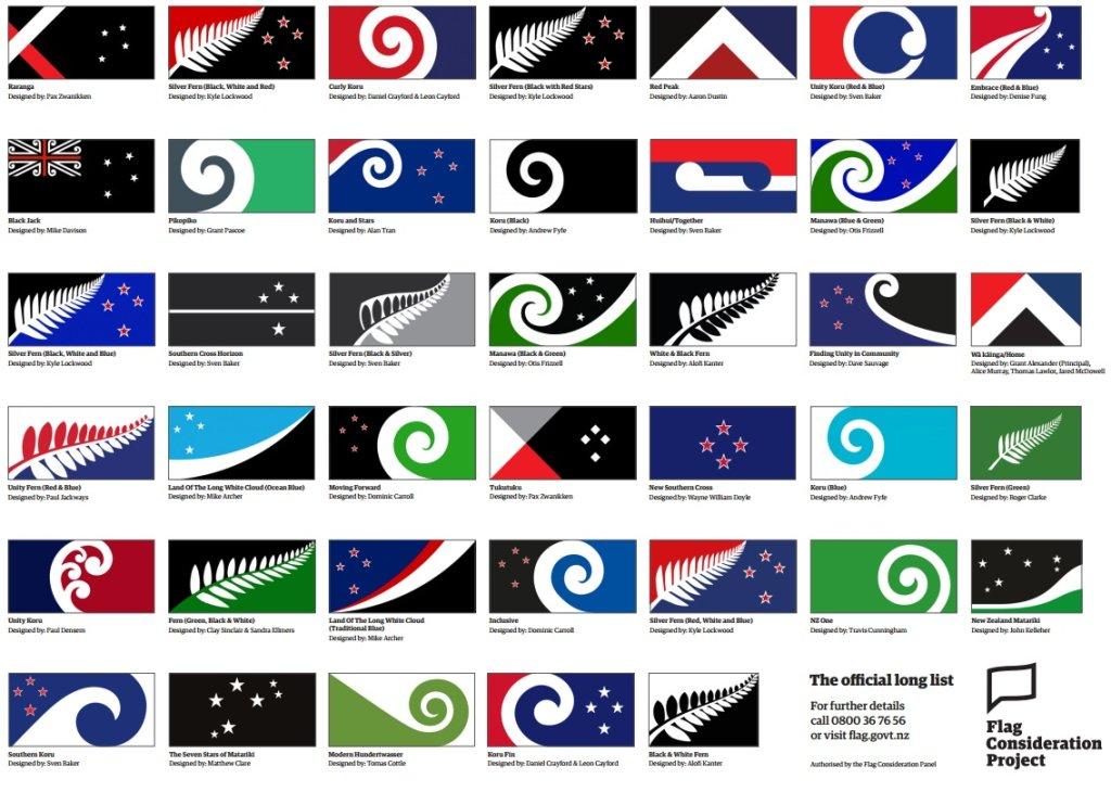 Projekty nowej flagi dla Nowej Zelandii