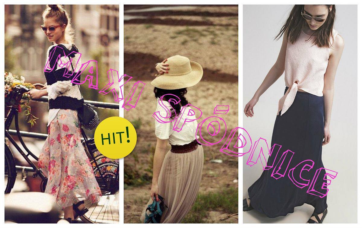 87db5c48 Maxi spódnice- z czym i jak nosić