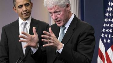 Barack Obama i Bill Clinton