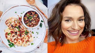 Ania Starmach - przepis na stek z kalafiora
