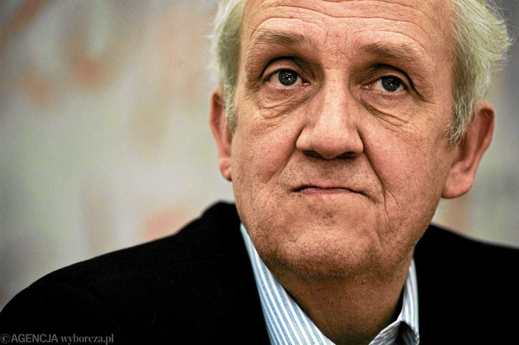 Prof. Andrzej Friszke, historyk, wybitny specjalista od dziejów opozycji w PRL, członek Rady IPN