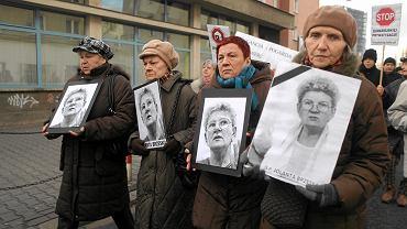 Marsz pamięci w związku z pogrzebem Jolanty Brzeskiej (2012 rok)