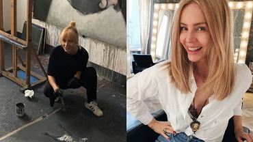 Agnieszka Woźniak-Starak pochwaliła się oryginalnym obrazem. Internauci: Smutny, a zarazem piękny