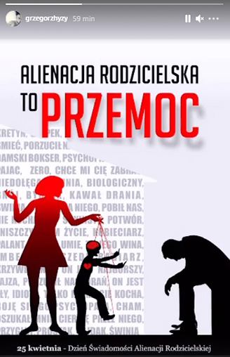InstaStory Grzegorza Hyżego