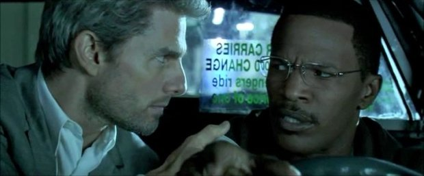 Tom Cruise i Jamie Foxx w