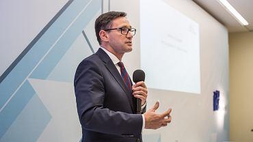 Daniel Obajtek, prezes PKN Orlen na II Forum Wizja Rozwoju w Gdyni