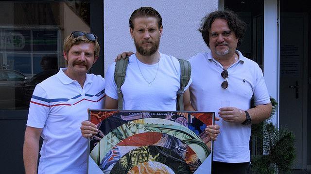 Rafał Zawierucha (z lewej) i Sebastian Fabijański (w środku) wystąpią w fabularyzowanej wersji 'Portrecisty'