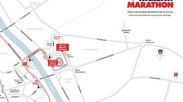 Trasa ORLEN WARSAW MARATHON