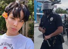 Halsey postrzelona gumową kulą w trakcie protestów w sprawie George'a Floyda