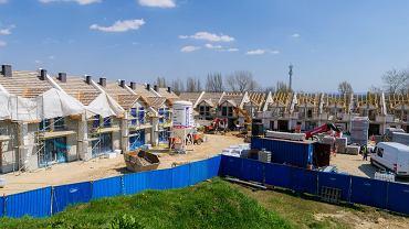 Postępują prace przy budowie 'Kwiatowej doliny' w Sosnowcu