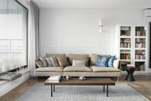 Mieszkanie inspirowane paryskimi wnętrzami