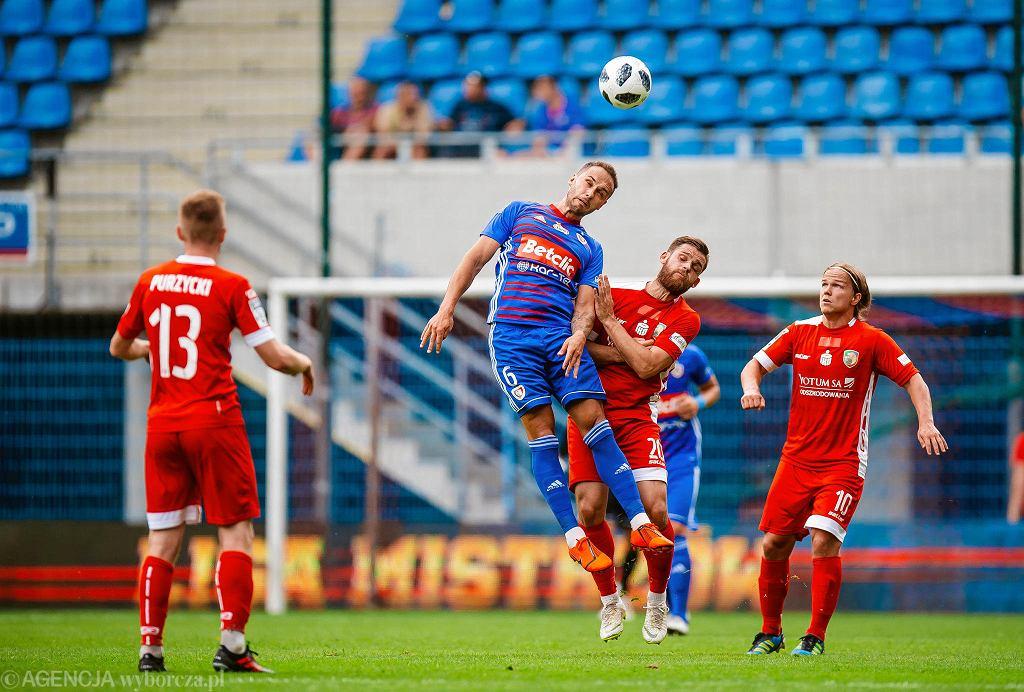 Piast Gliwice sprawił niespodziankę - zremisował 1:1 w pierwszym meczu z BATE Borysów