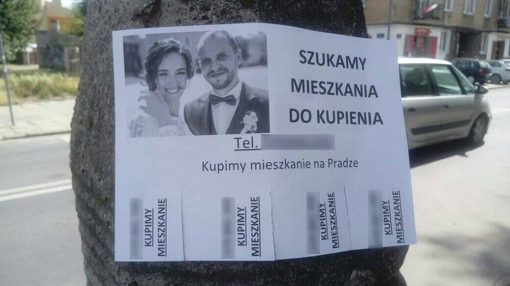 'Młode małżeństwo szuka mieszkania na Pradze'