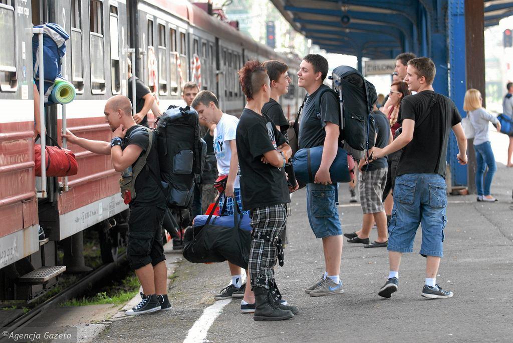 Co z pociągami na Pol'And'Rock Festival? Rozkład wciąż nie jest znany
