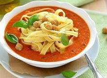 Zupa krem z ciecierzycy - ugotuj