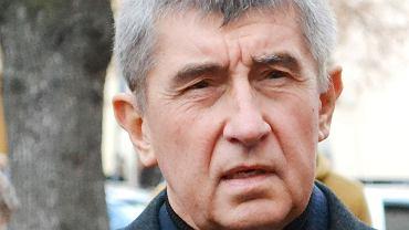 Czeski wicepremier, biznesmen i miliarder Andrej Babisz