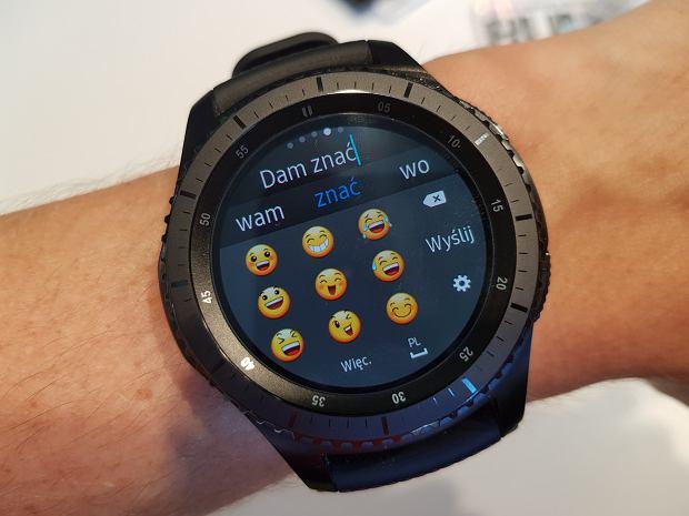 Samsung Gear s3 - funkcje smartfona