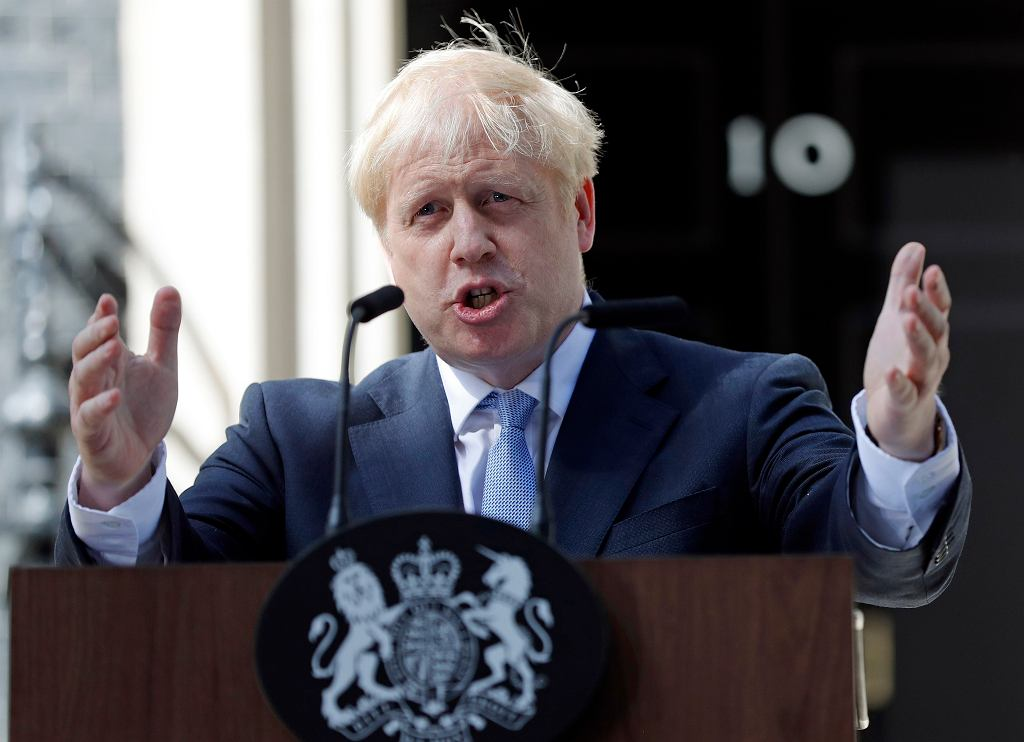 Brexit. Premier Wielkiej Brytanii Boris Johnson