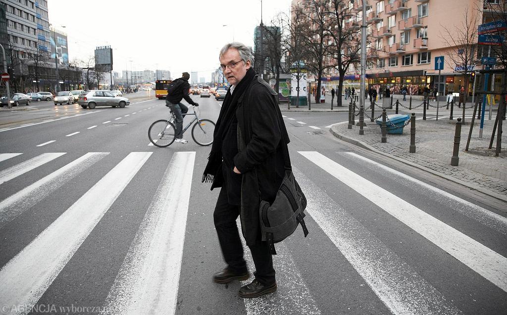 23.03.2010 Warszawa . Pisarz Jerzy Pilch . Fot. Michal Mutor / Agencja Gazeta