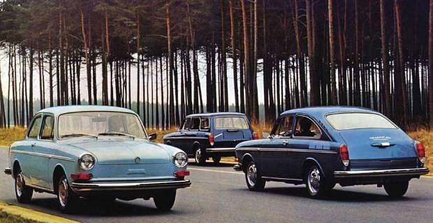 Volkswagen 1600 (Typ 3) po modyfikacji z 1970 roku