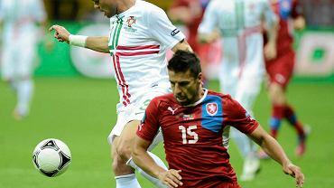 Milan Baros podczas Euro 2012