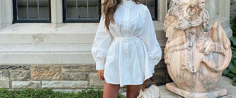 Te koszule możesz nosić także jako sukienkę! Z falbaną polskiej marki to perełka - elegancka, a zarazem idealna na upały
