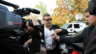 Robert N. ps. Frog przed płocką prokuratura