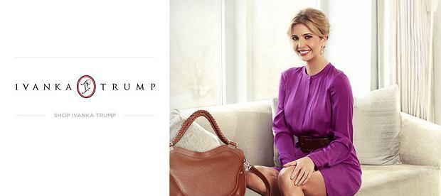 Ivanka Trump w kampanii swojej marki akcesoriów