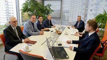 Posiedzenie Warmińsko-Mazurskiej Specjalnej Strefy Ekonomicznej w Olsztynie.