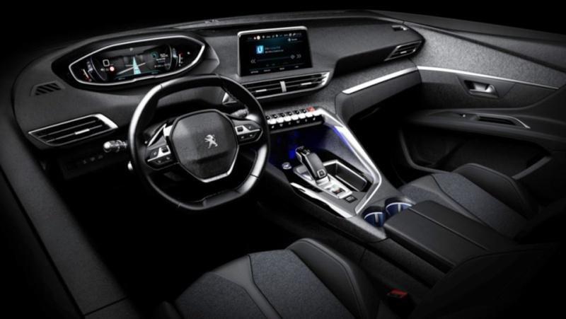WNętrze Peugeota 3008