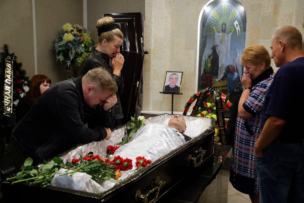 Pogrzeb Aleksandra Tarajkouskiego, Mińsk, 15 sierpnia 2020