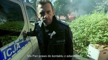 Piotr Głowacki w filmie przygotowanym przez inicjatywę Wolne Sądy
