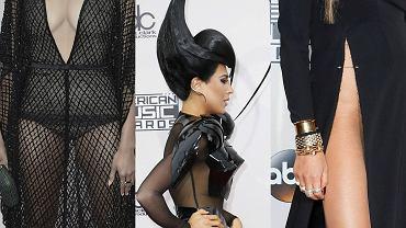 American Music Awards co roku przyciąga najgorętsze nazwiska show-biznesu. Tak było i tym razem. Na gali wręczenia prestiżowych nagród frekwencja nie zawiodła. Tegoroczną imprezę poprowadziła modelka Gigi Hadid oraz komik Jay Pharoah. A co działo się na czerwonym dywanie? Gwiazdy w swych stylizacjach prześcigały się pod względem dziwaczności: fantazyjne fryzury, tandetne dodatki i bardzo głębokie rozcięcia, które odsłaniały więcej niż powinny.  Nielicznym ryzyko się opłaciło, większość zaliczyła totalne wpadki.