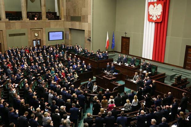 Sejm uchwalił uchwałę ws. Marca'68