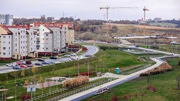 Park przy ul. Odrzykońskiej i Bieckiej